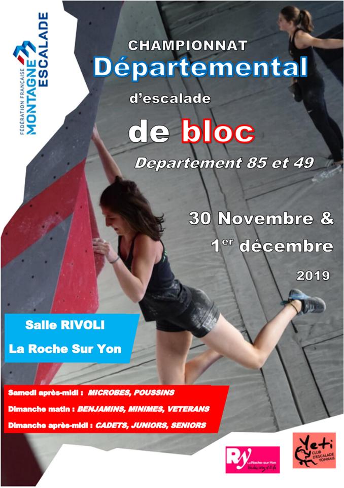 Compétition de bloc à Rivoli 2019